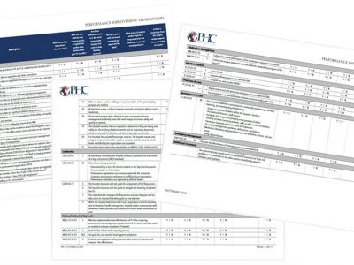 Collage of PHC Worksheets